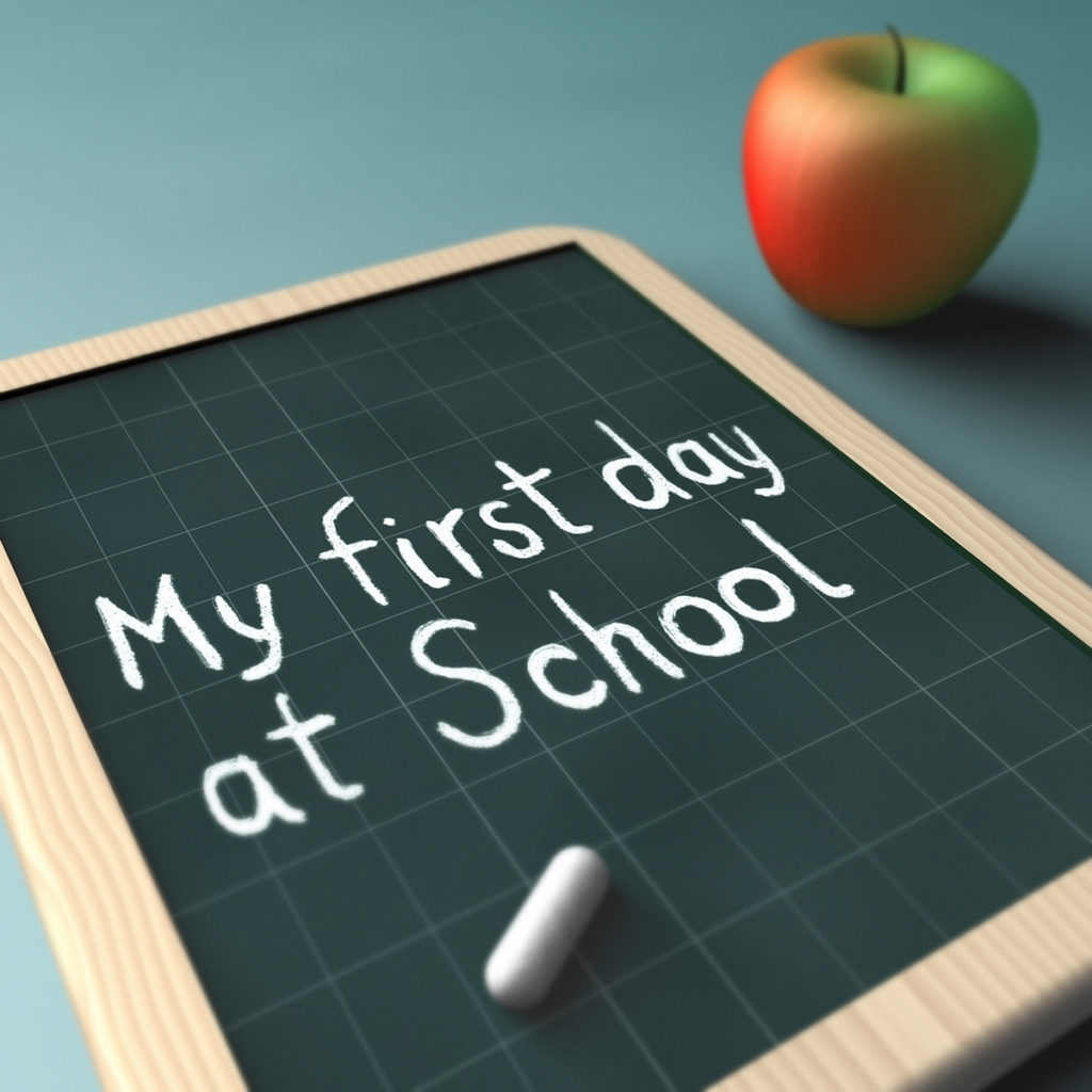 My First Day - Transition from nursery to school