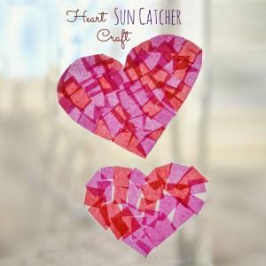 Heart Sun Catcher