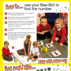 Bee-Bot Accessory Cards