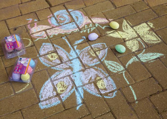 Chalk - egg shaped