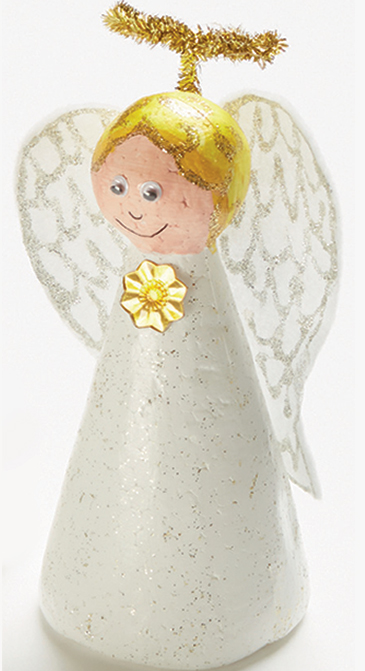 Decofoam Cone People - angel step 3
