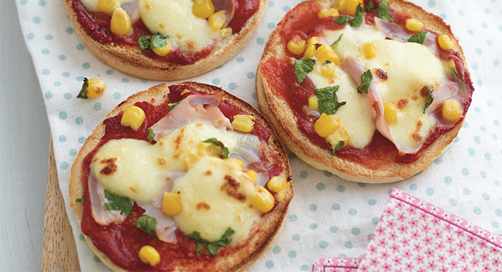 Yummy Muffin Pizzas - Tesco Eat Happy Project