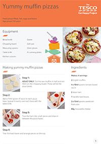 Yummy Muffin Pizzas Recipe