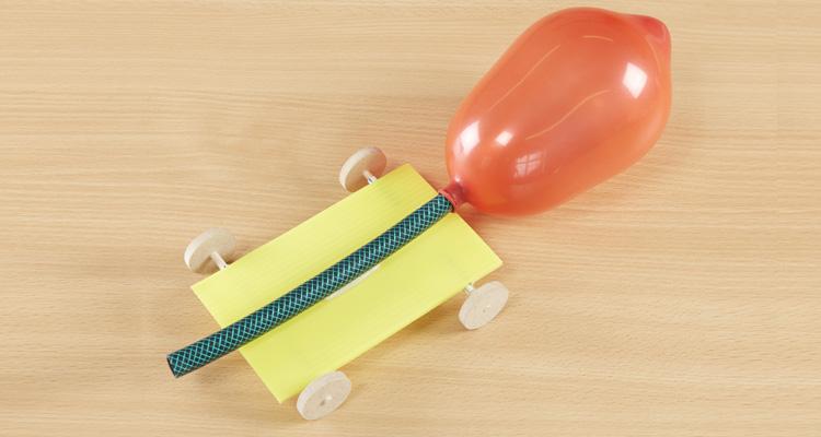 Design and Make a Balloon Buggy