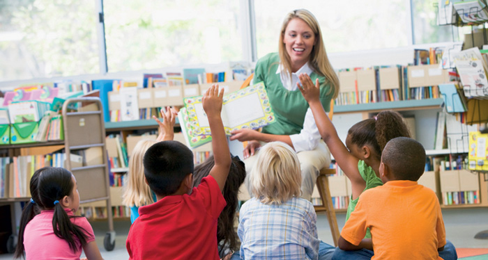 guided reading classroom
