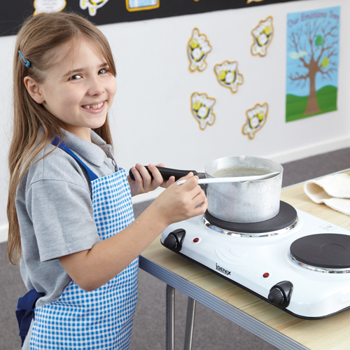 Cooking at school