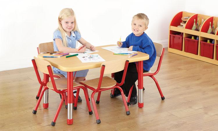Copenhagen Rectangular 4 Seater Table