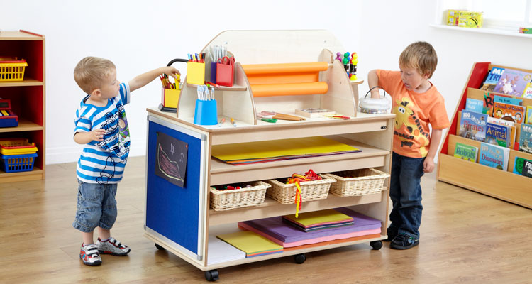Classroom storage designed with your schools and nurseries in mind