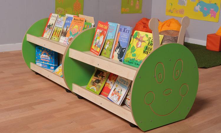 Classroom book storage