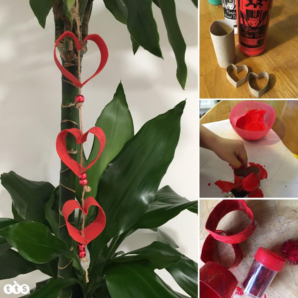 Valentine craft by Lottie Makes