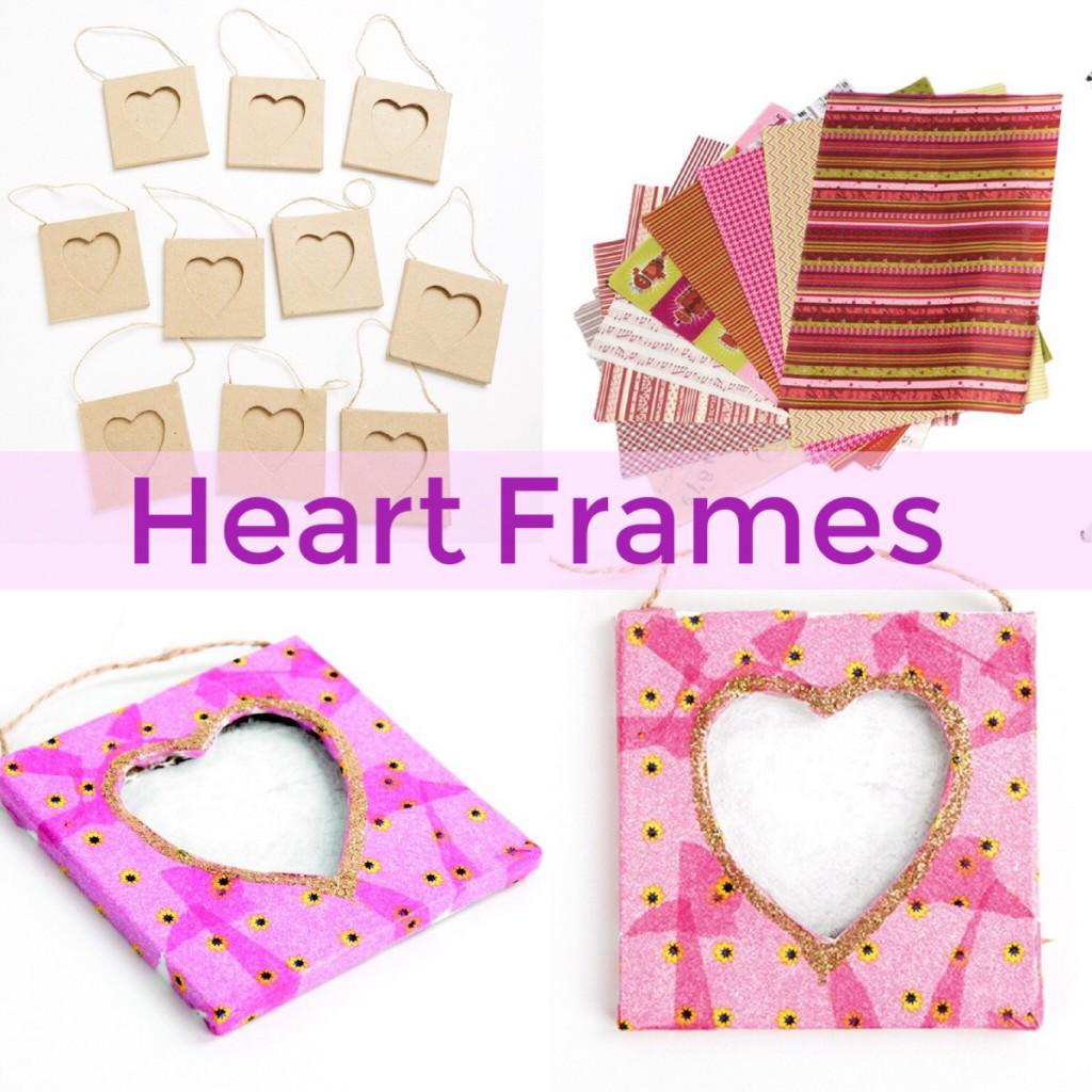 valentine craft frame