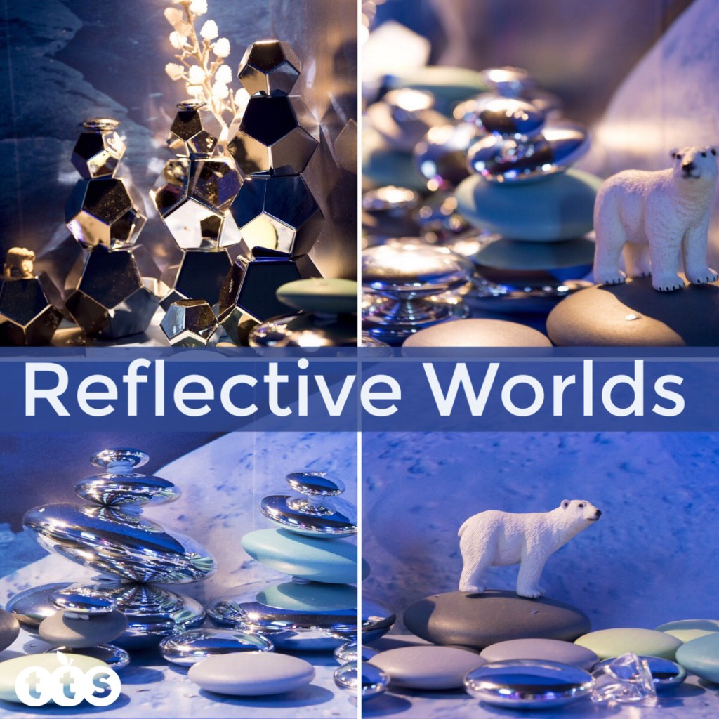 Reflective worlds in a tuff spot