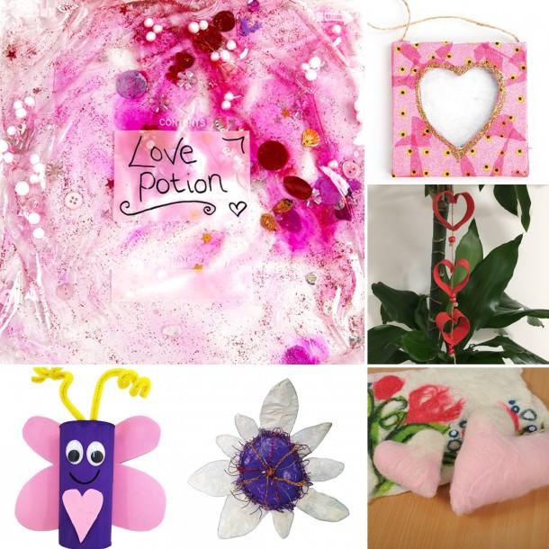 Valentine's Day crafts for children