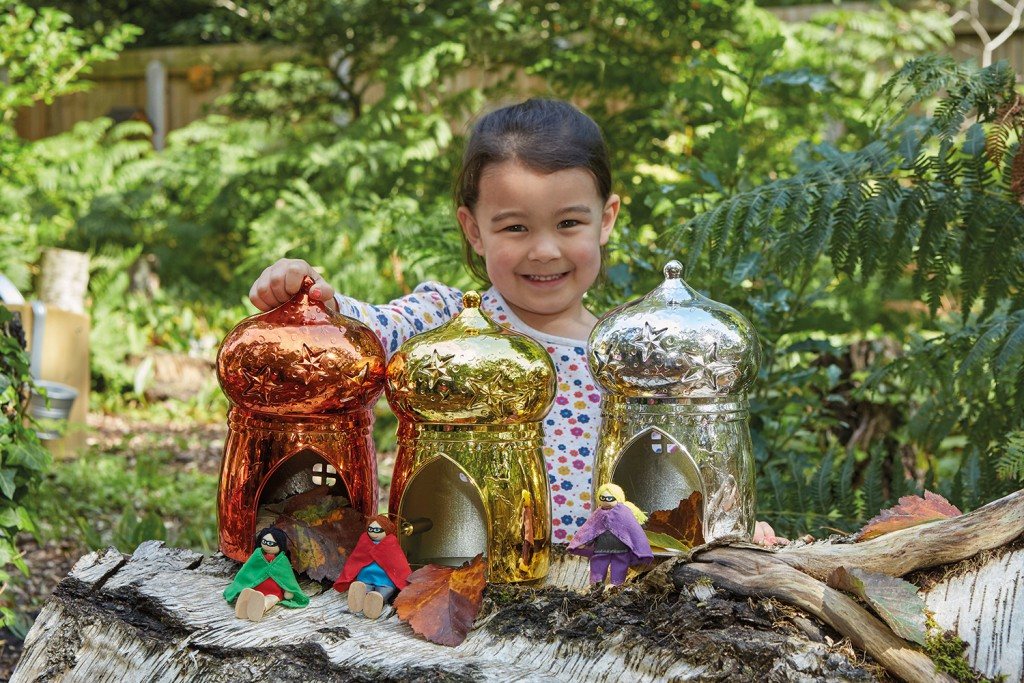magic sparkle houses outdoor play
