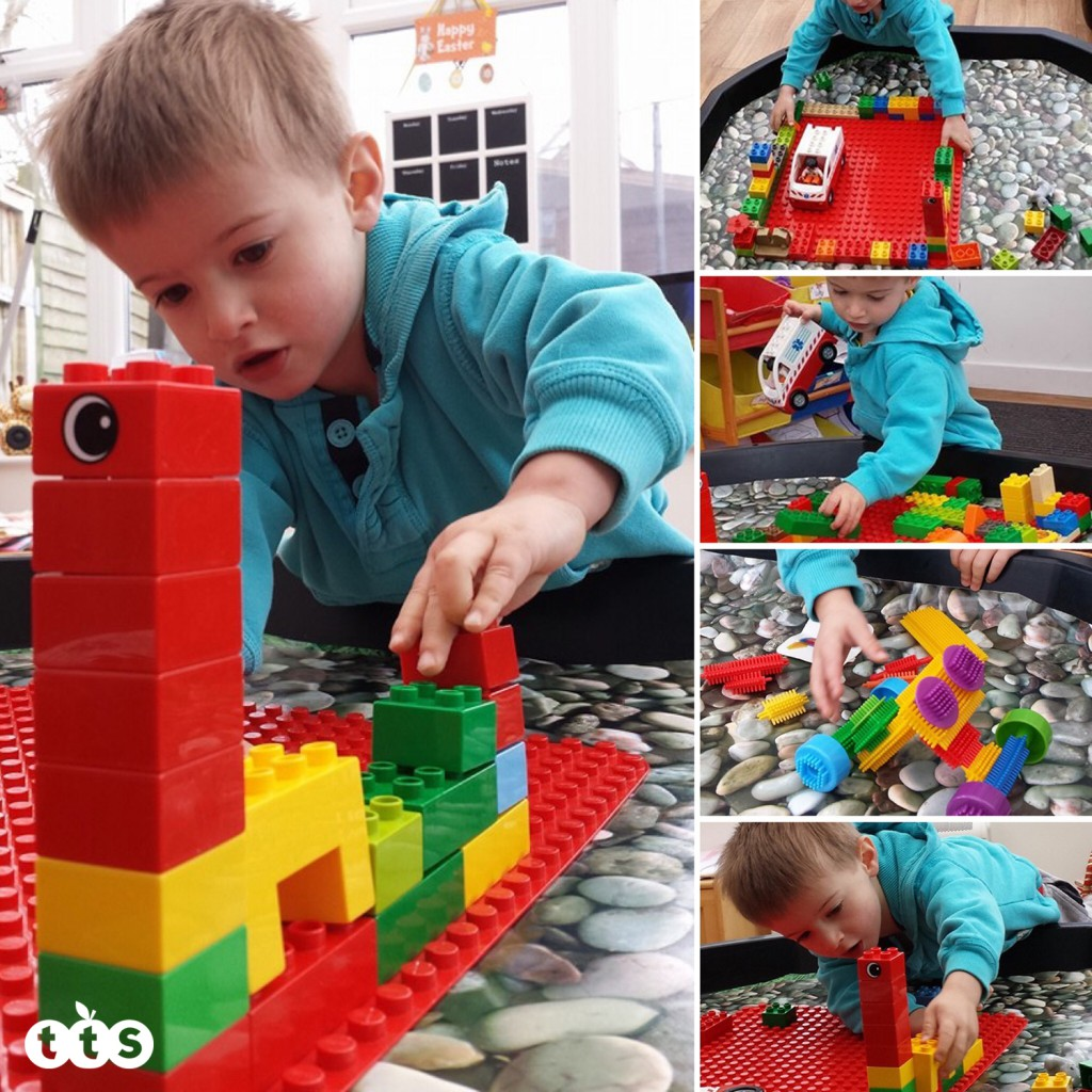 LEGO and Duplo in a tuff spot