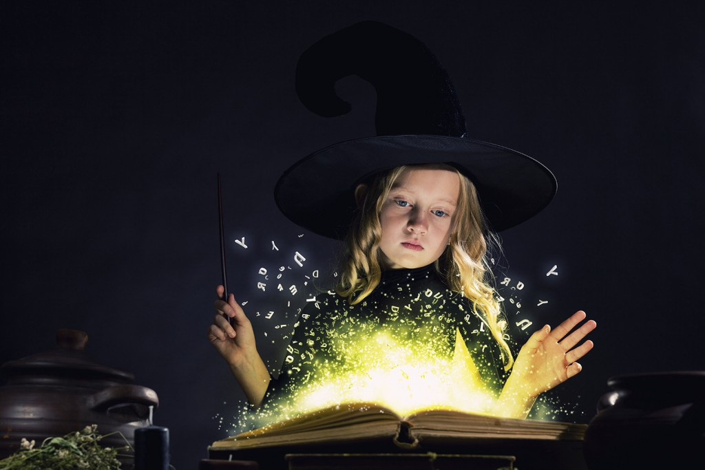 magic of reading - imagination