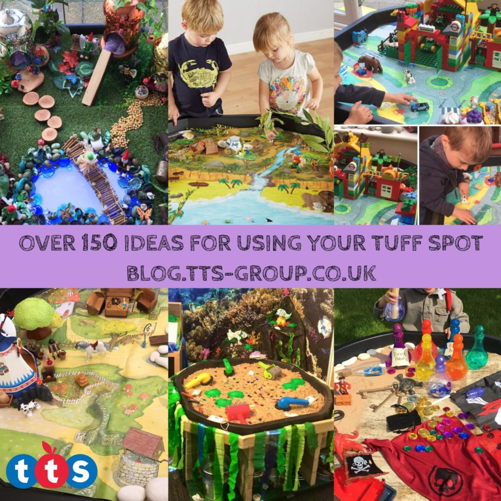 150 ideas for using your tuff spot