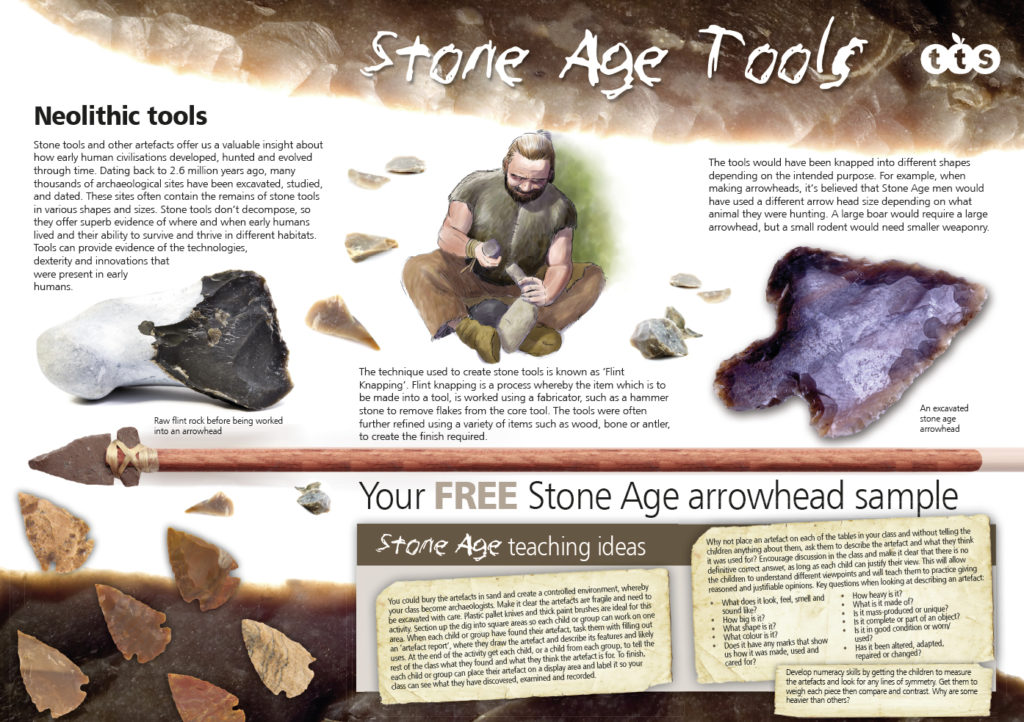 Stone age poster