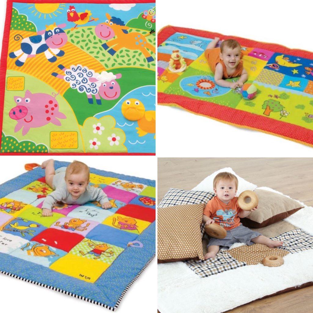 Baby activity mats