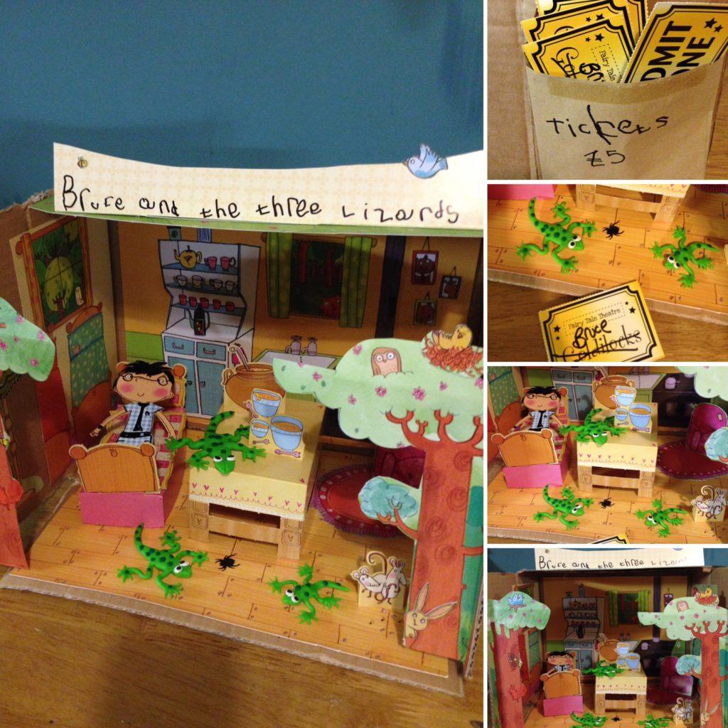 Story Shoe Box by Lottie Makes