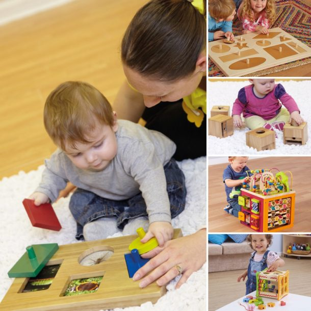 Wooden exploration toys