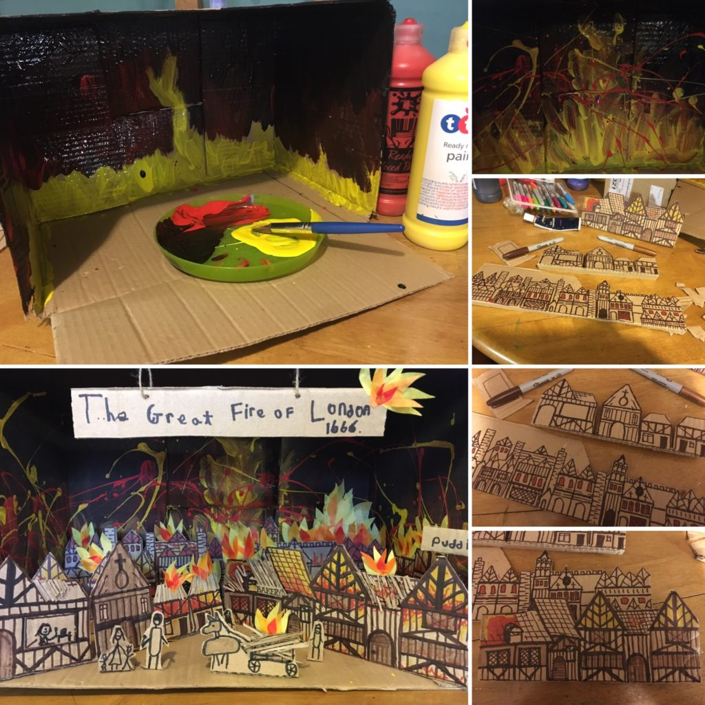 The great fire of london in a shoe box 3