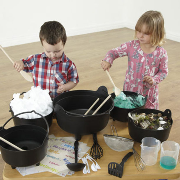 Halloween Cauldrons and concoctions