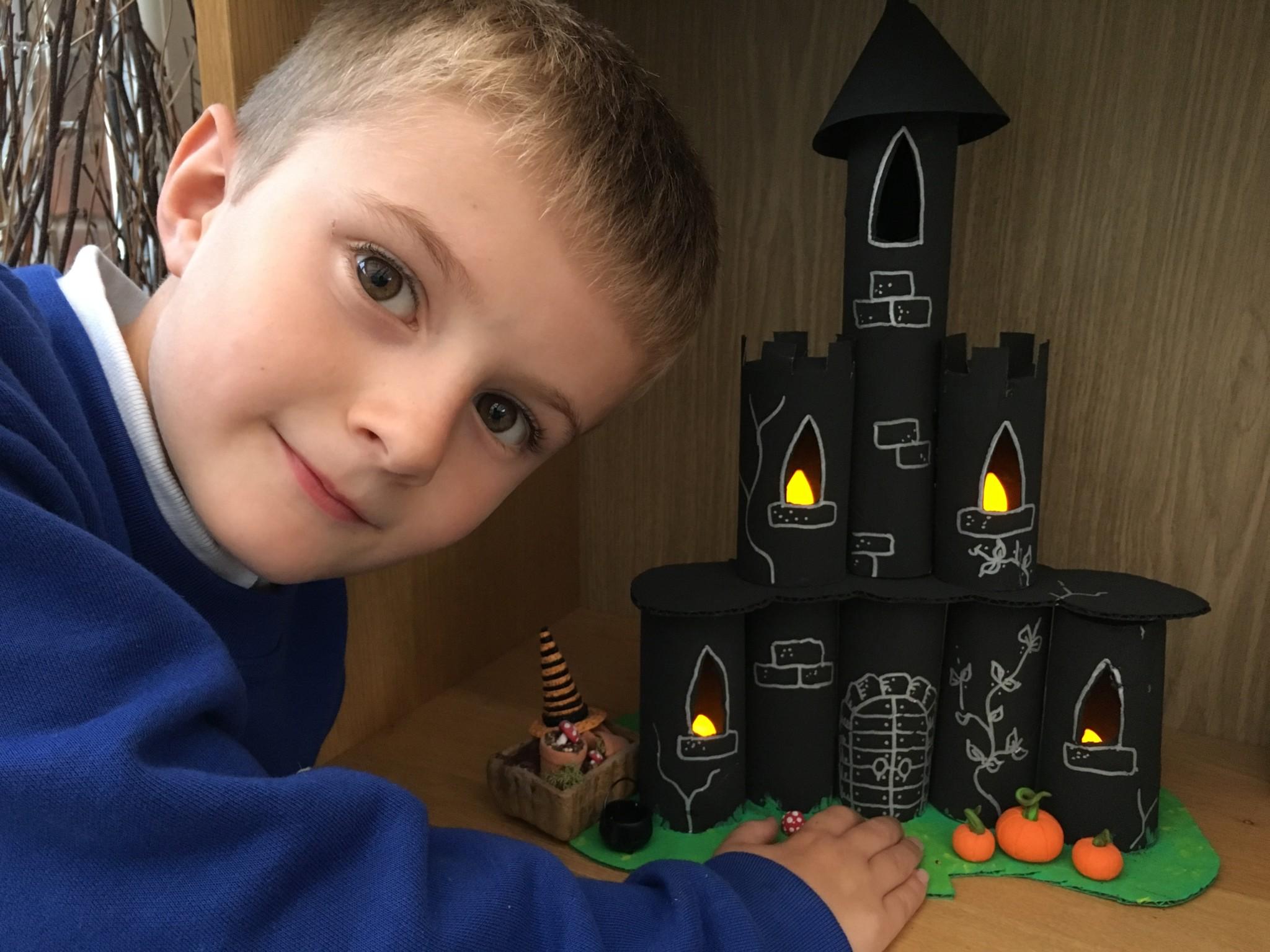 Halloween Creepy Castle by Lottie Makes