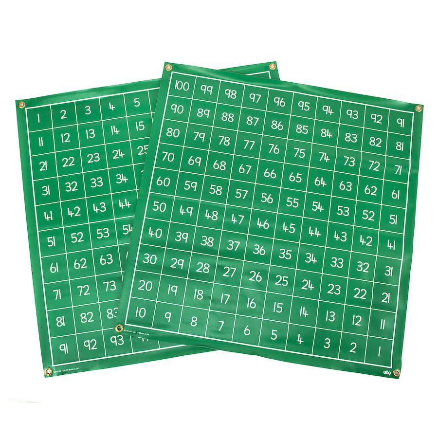100 square vinyl write on mats
