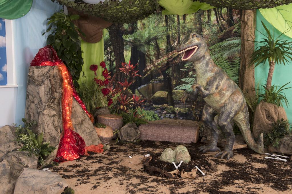 dinosaur learning environment