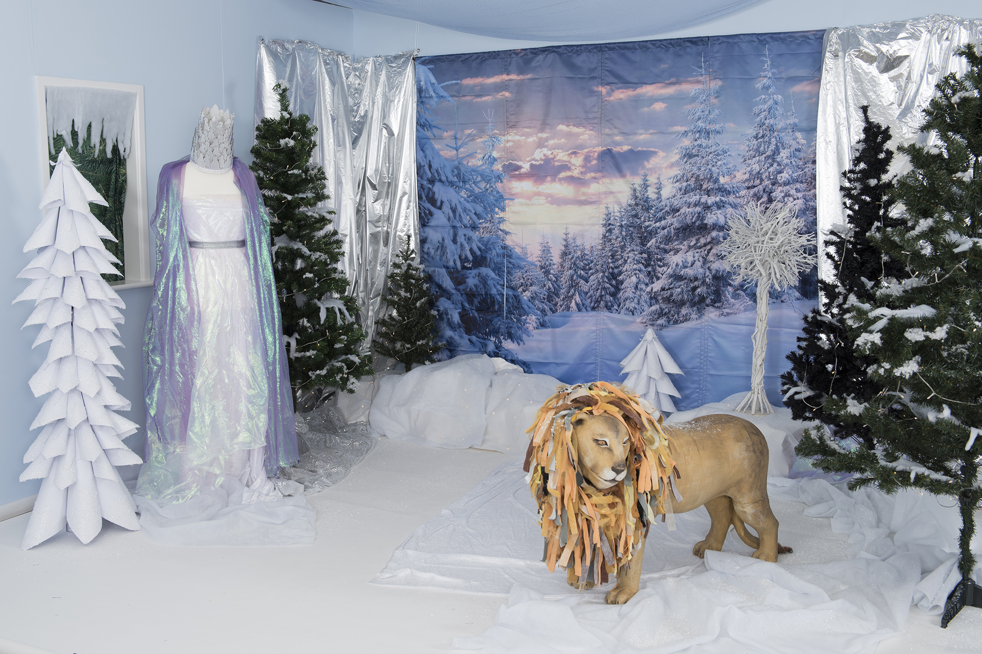 Frozen Immersive environment