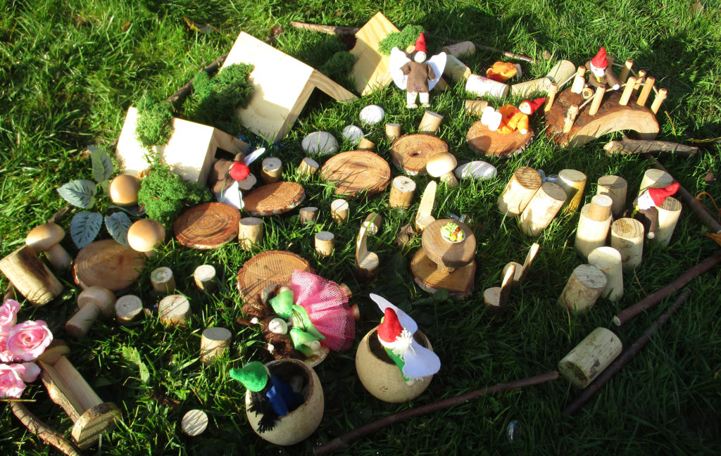 Fairies at Forest school