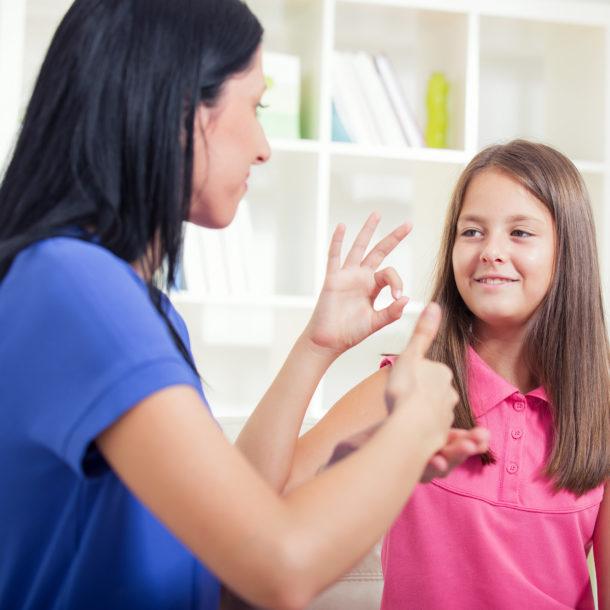 finger spelling sign language
