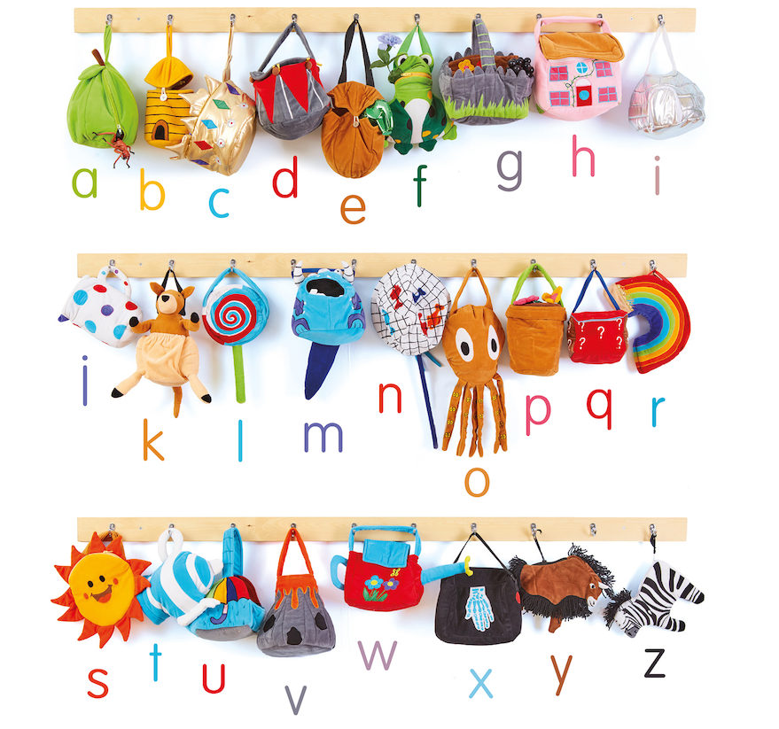 Alphabet phonics bags