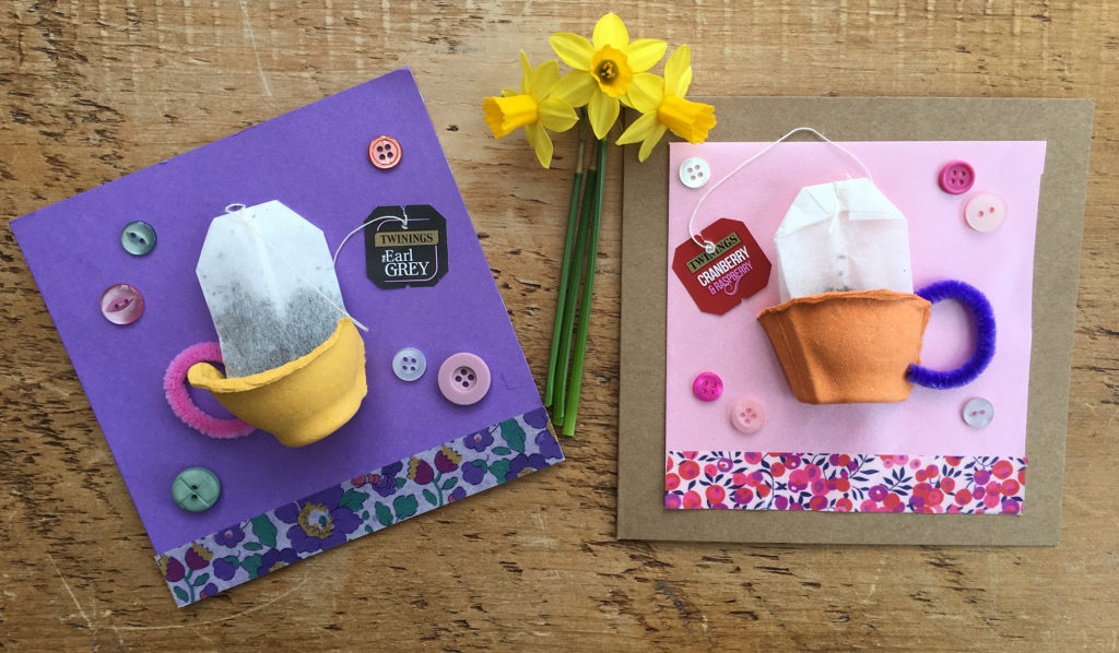 egg box mothers day card