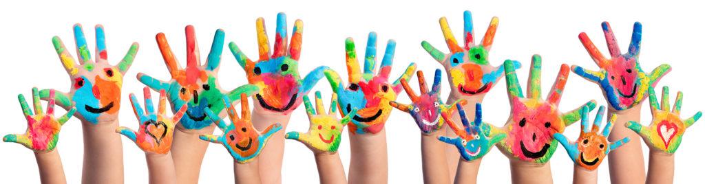 mindfulness happy hands