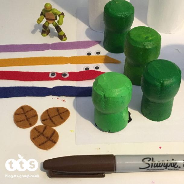 ninja turtles cork characters