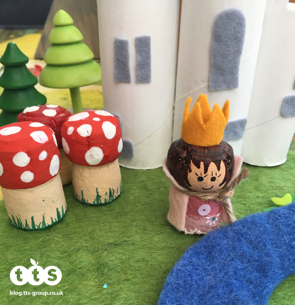 princess cork character by Lottie Makes