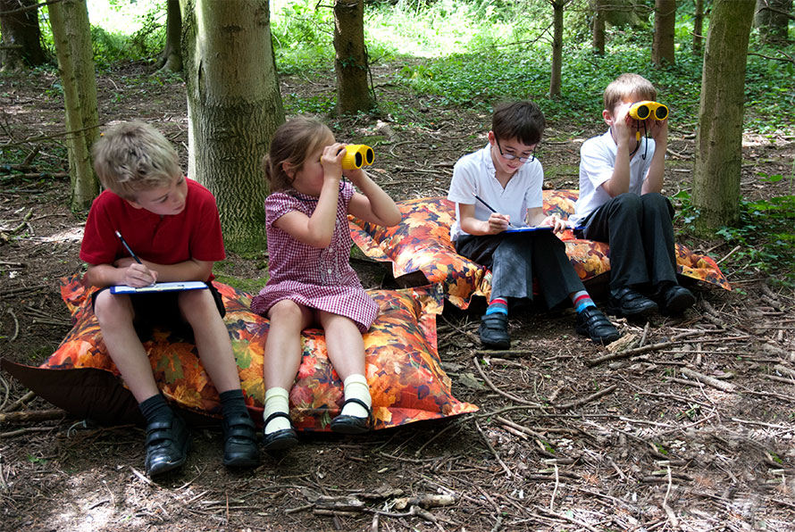 eden learning outdoors cushions and beanbags - outdoor seating
