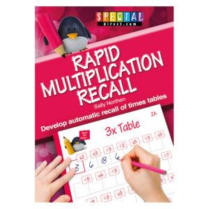 Rapid Multiplication Recall Times Table Workbook 2