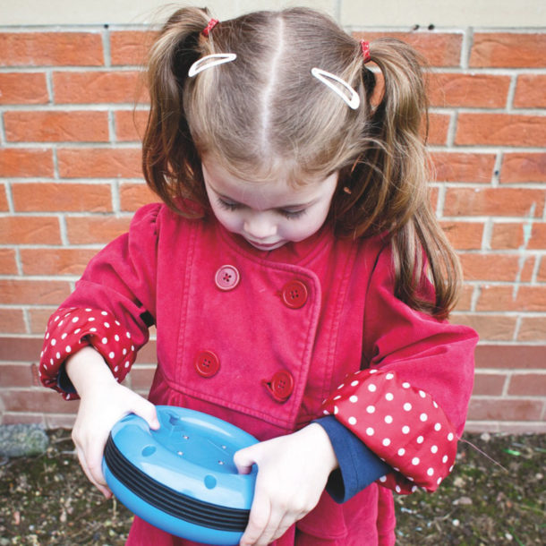 Outdoor big points ICT in early years