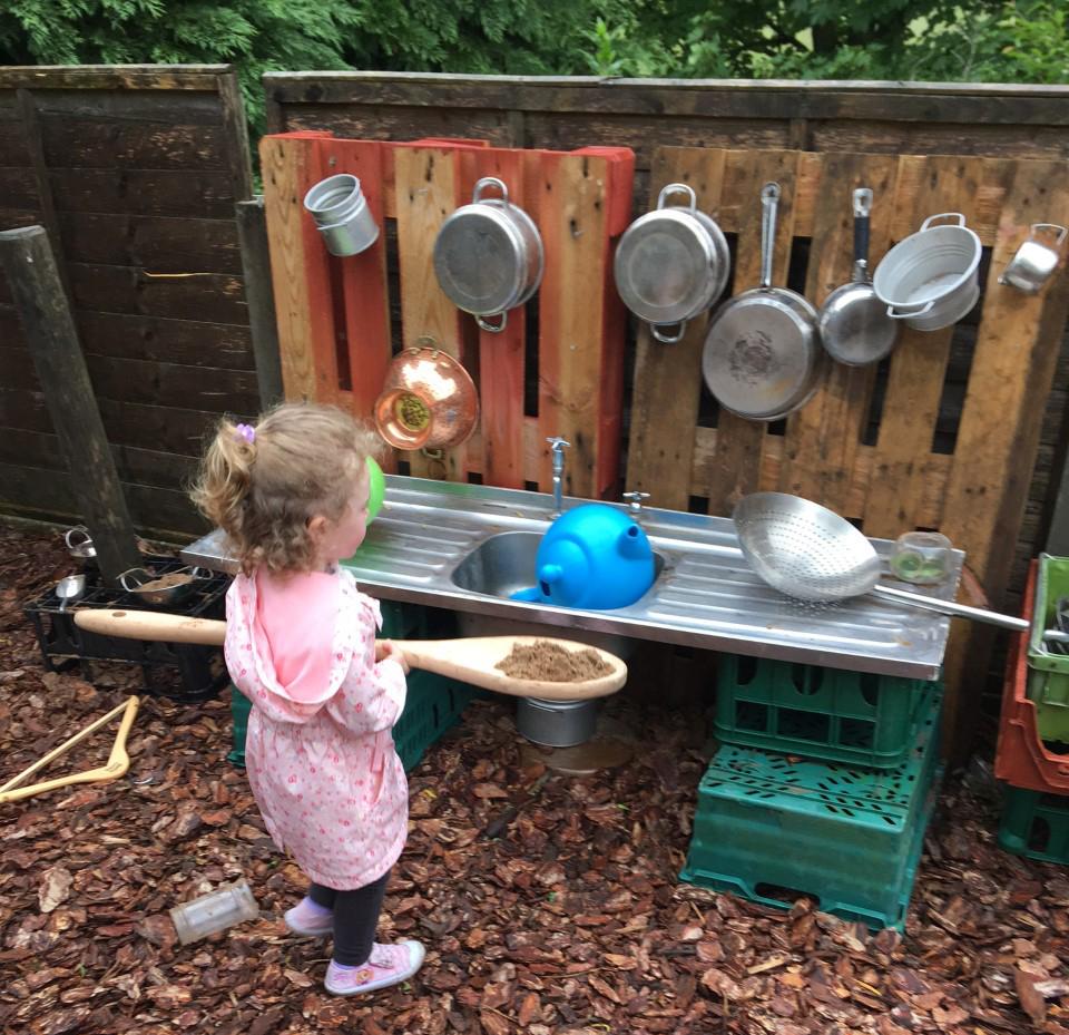 Little Miss EY outdoor maths