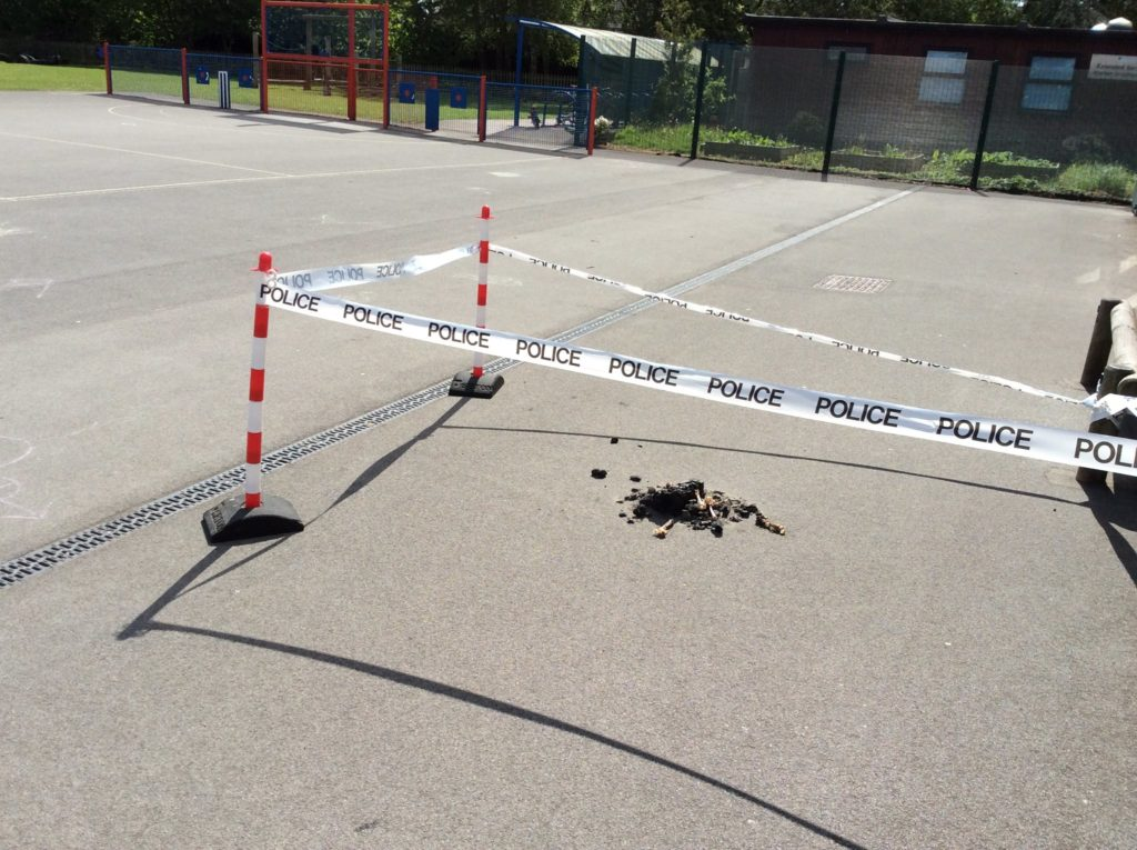 crime scene creative writing