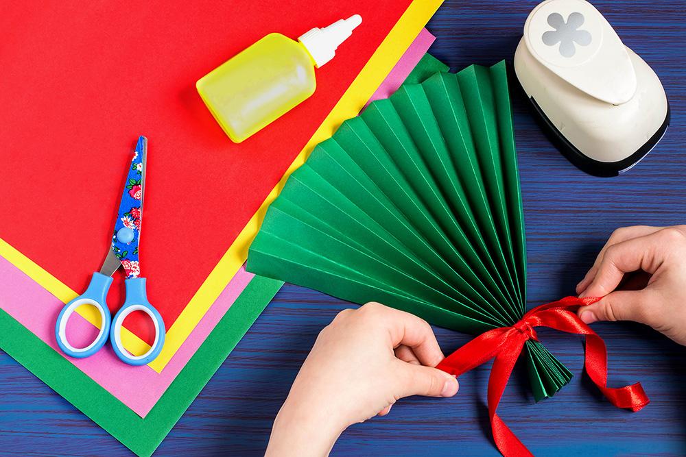 keeping cool in the classroom - paper fan