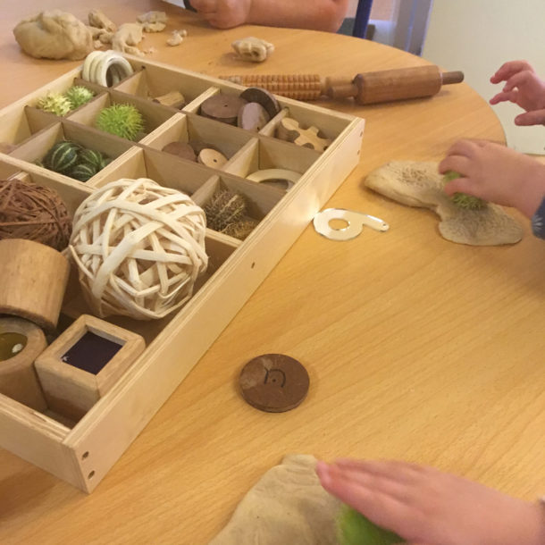 The appeal of tinker trays for loose part play by Little Miss Early Years