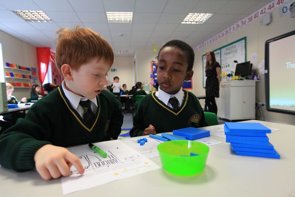 The value of concrete manipulatives in maths