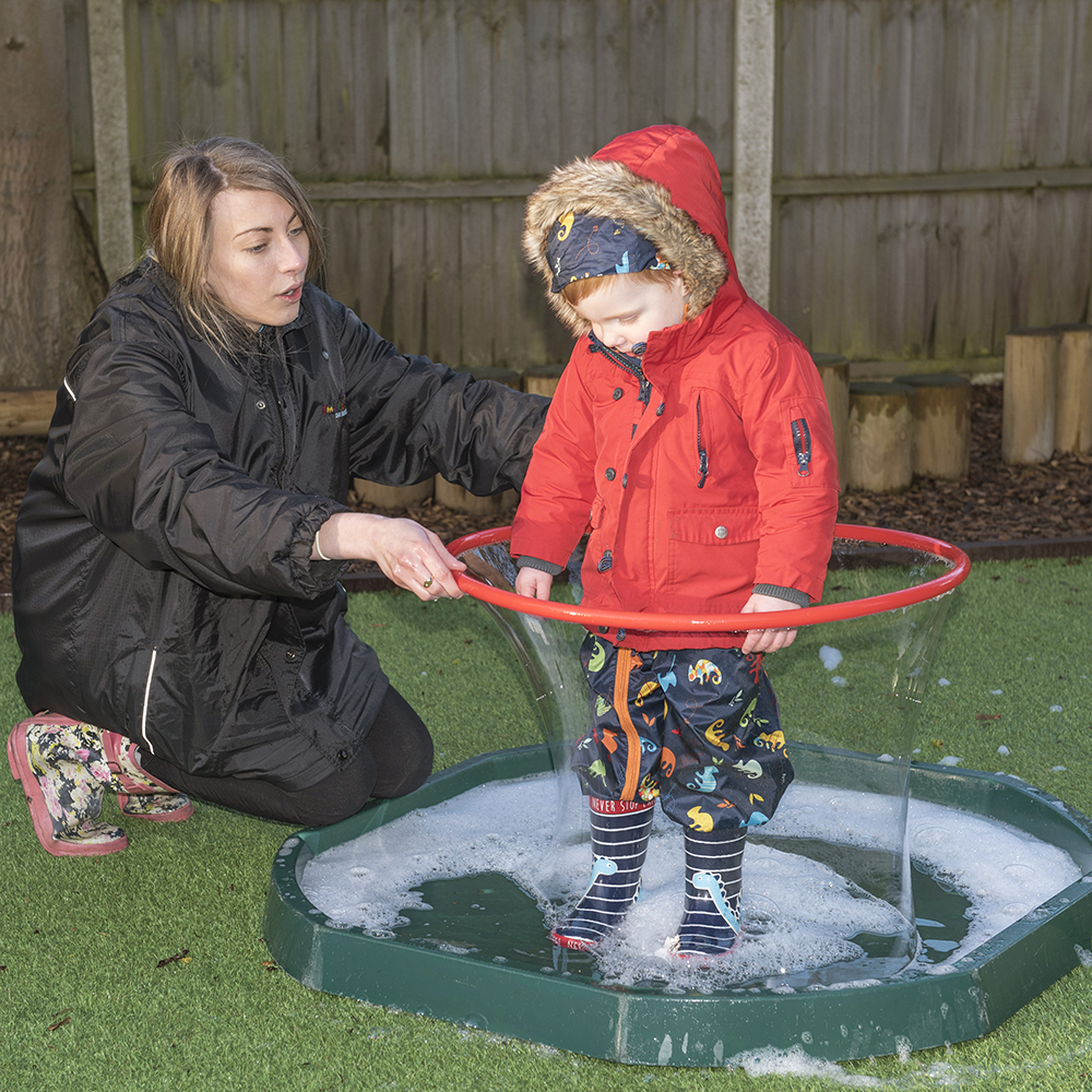 Magical moments - outdoor play