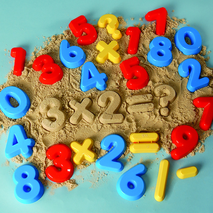 number sand shapes