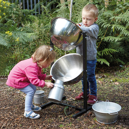 Science Sparks Cascading water station
