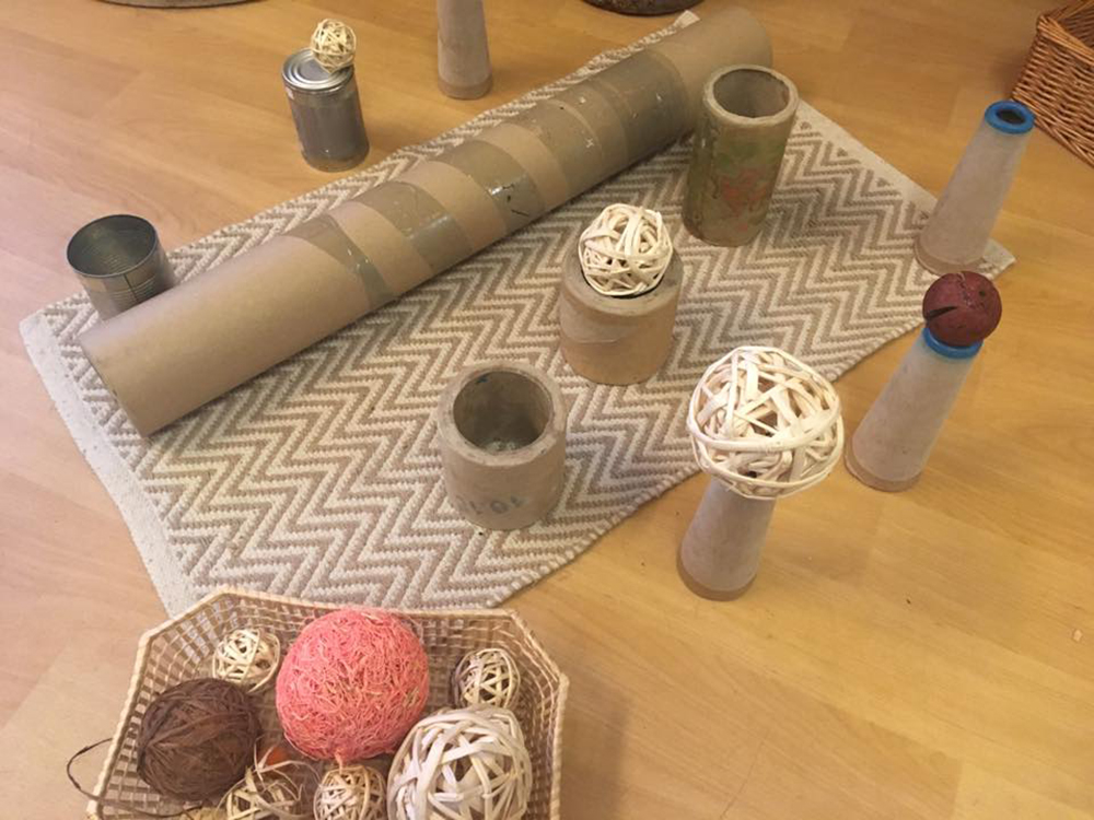 loose parts for babies and toddlers